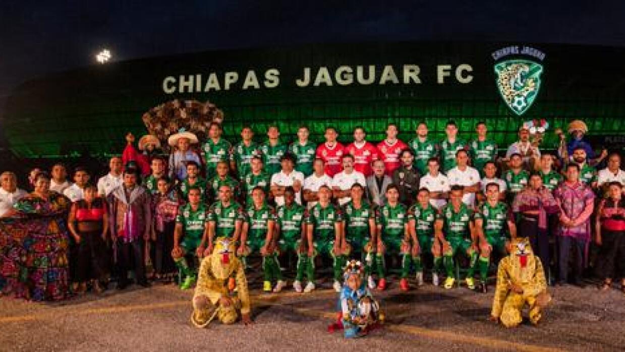 Foto oficial Jaguares de Chiapas Apertura 2015