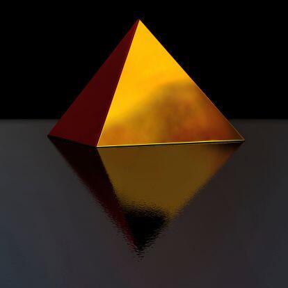 Si tienes una pirámide de oro pequeñita la puedes usar com...