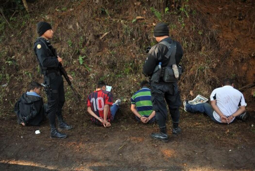En el país vecino los ataques por los Zetas se están volviendo cosa comú...