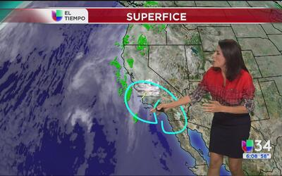 Lluvia y bajas temperaturas para Los Ángeles