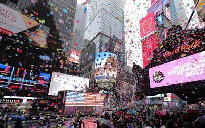 Así se prepara la ciudad de Nueva York para celebrar el Año Nuevo