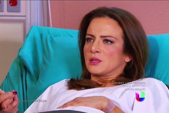 No te preocupes Ana, Fernando ya viene corriendo al hospital.