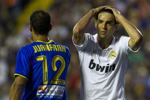 Y el tiempo no dio para más, el Real Madrid perdía en Levante.
