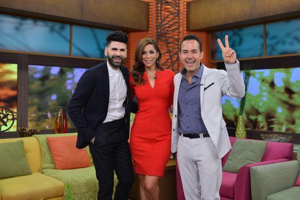 Los tres llegaron a Despierta América para hablar de esta nueva etapa de...