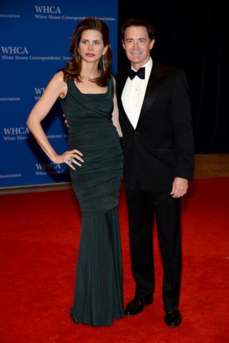 Kyle McLachlan y su pareja, Desiree Gruber. Mira aquí los videos más chi...