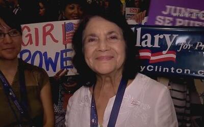 Conozcan a la activista que ha participado en 12 convenciones
