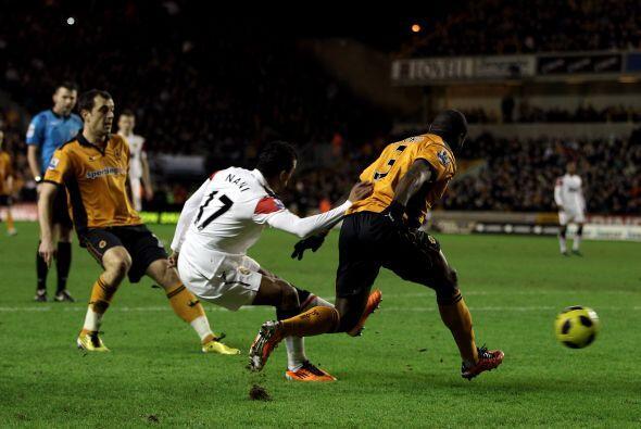 Manchester United se enfrentó al último de la tabla, el Wolverhampton. E...