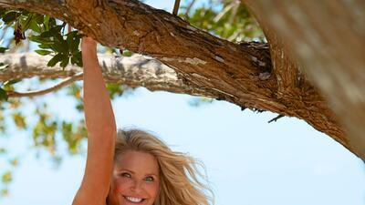 La supermodelo Christie Brinkle apareció ocho veces en la revista...