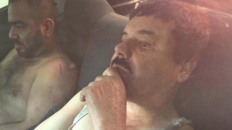 Atraparon al Chapo Guzmán