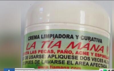 Alertan sobre altos niveles de mercurio en cremas para la piel
