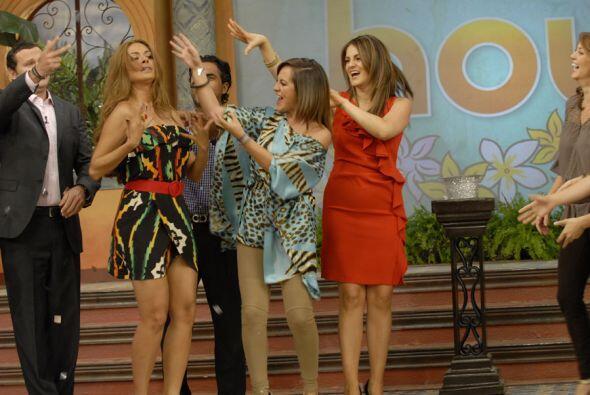 Gali es la consentida del show, tanto  por su embarazo como por sus habi...