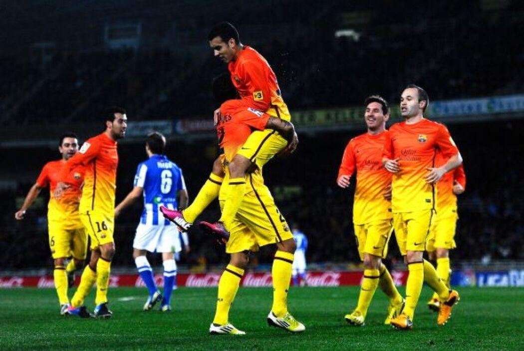 El Barcelona se encaminaba hacia una goleada, pero se convirtió en un es...