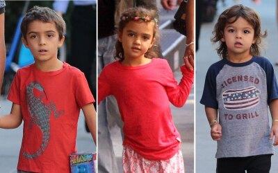 Ellos son los hijos de Camila Alves y Matthew McConaughey