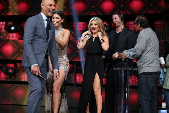 Thalía apareció en la quinta gala de Nuestra Belleza Latina presentando...
