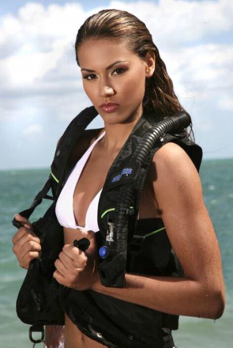 Susie de los Santos también estuvo en el 2009.