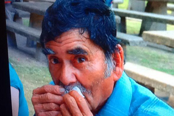 Norma Díaz nos envió una foto de su padre, a quien nunca p...