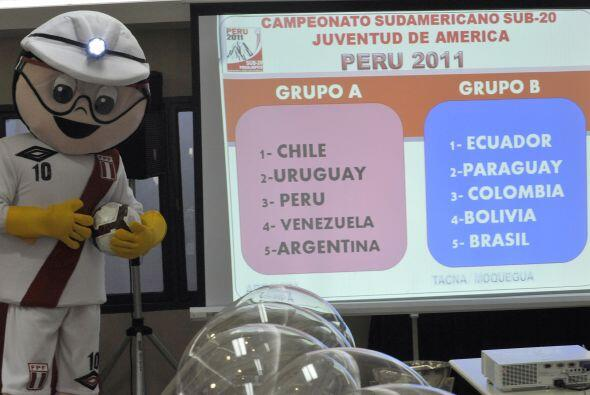 El Grupo A tiene al local Perú, Argentina, Chile, Uruguay y Venezuela. M...