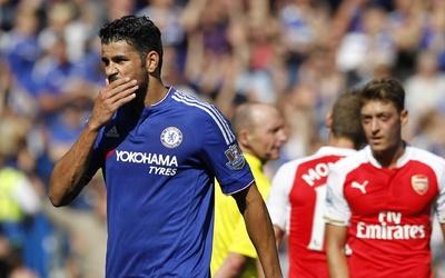 Diego Costa es sancionado con tres partidos por su agresión ante Arsenal.