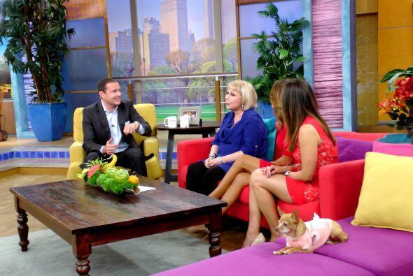 La presentadora compartió con Despierta América extraordinarias experien...