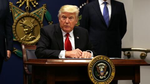 ACLU asegura que orden ejecutiva del presidente Trump es una discriminac...