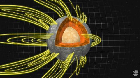 Estudio de la Nasa descubre que Mercurio tiene actividad sísmica