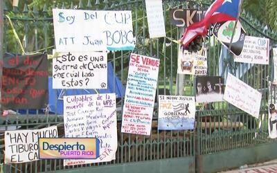 La huelga indefinida en el recinto universitario de Río Piedras cumple 5...