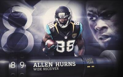 Top 100 Jugadores del 2016: (Lugar 89) WR Allen Hurns