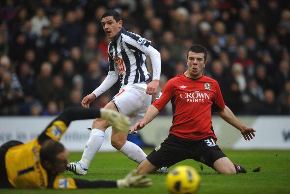 El West Bromwich se enfrentó al Blackburn que se impuso gracias a...