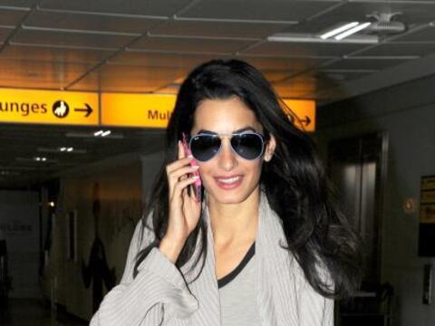 Encontramos a la futura esposa de George Clooney en Londres. Mira aqu&ia...
