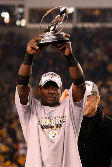 El mejor jugador del encuentro sin duda fue el corredor de Pittsburgh, R...