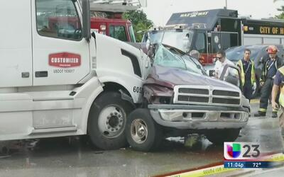 Cubana recién llegada víctima fatal de accidente en Hialeah