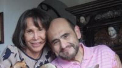 El actor compartió su última foto con Chespirito