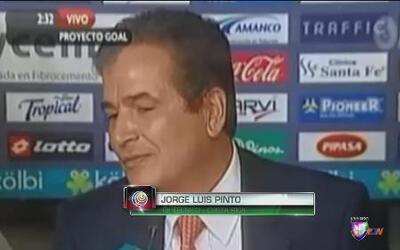Jorge Luis Pinto revela diferencias con jugadores de Costa Rica