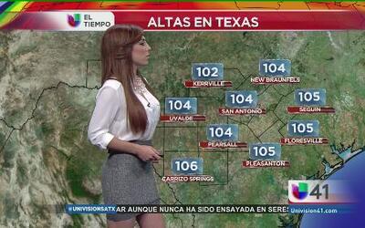 San Antonio, con el mercurio hasta el techo