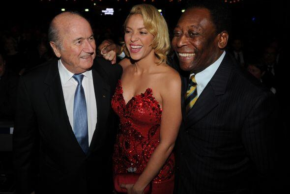 Pero es que Blatter y 'O'Rei' la querían sólo para ellos. Par de pillos.