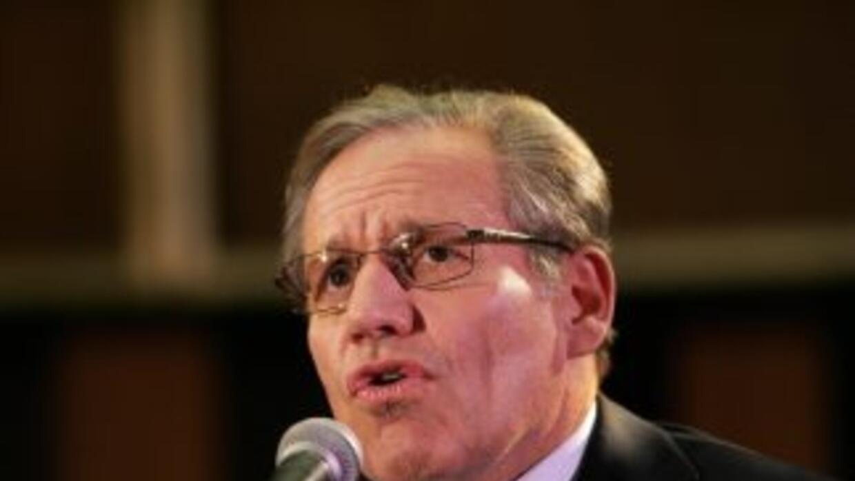 Bob Woodward, el célebre periodista del Washington Post, recordado por d...