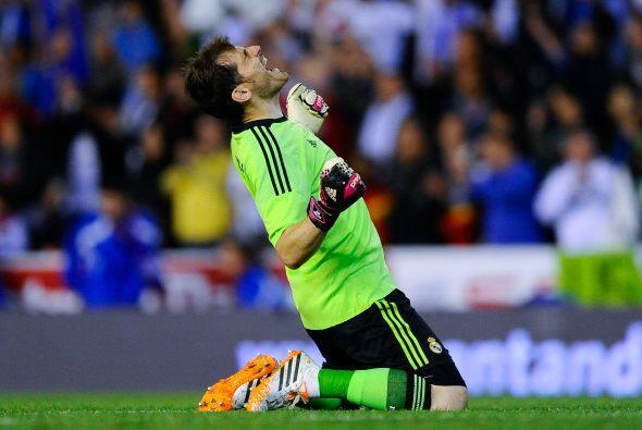 Iker Casillas celebró en grande el gol de Bale. El tanto que le m...