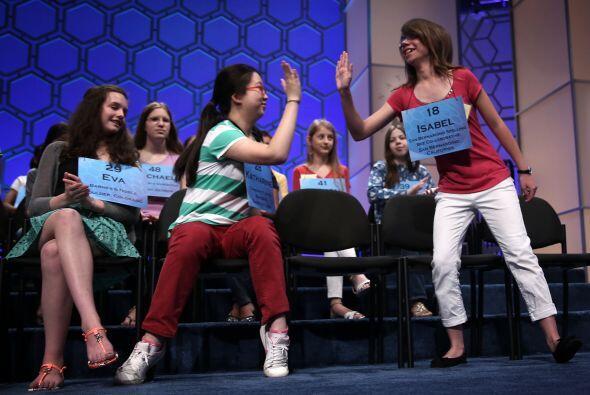 Este año participaron en el concurso 281 estudiantes de EEUU y sus terri...