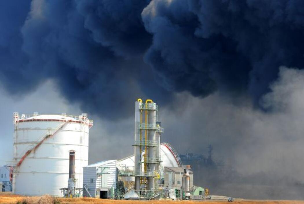 La central de Fukushima, construida hace más de 40 años en la costa del...
