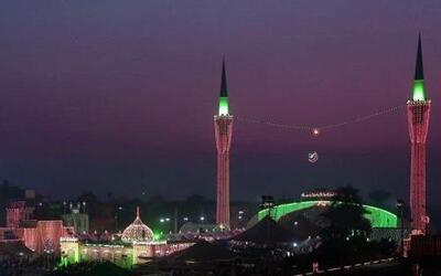 Aspecto general del templo musulmán San Hazrat Ali bin Usman Al-Hajveri,...