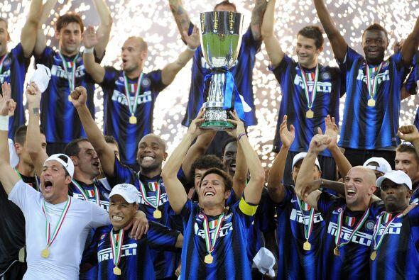 El momento con el que iniciamos es la consagración del Inter de Milán en...