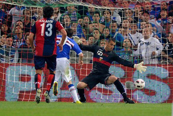 La Sampdoria reaccionó y empató los cartones por intermedi...