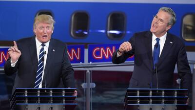 Así defendieron los precandidatos republicanos sus posiciones sobre inmi...