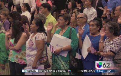 Más de 1,000 personas reciben la ciudadanía en Texas