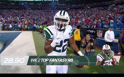 Semana 2: Las mejores actuaciones de Fantasy NFL