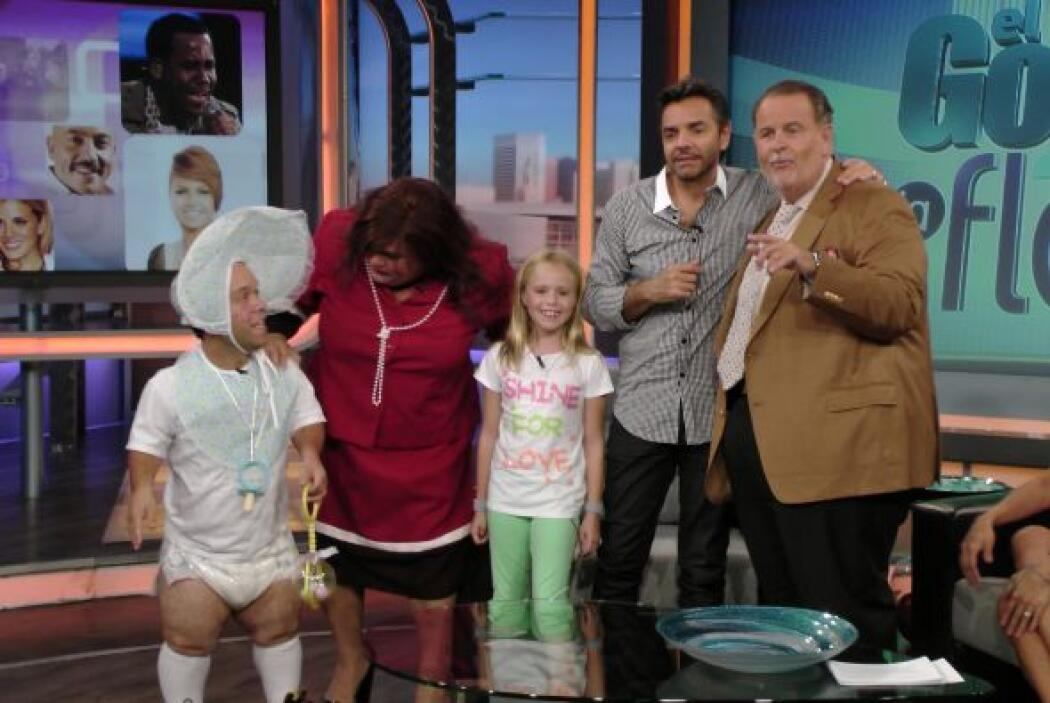 ¿Cómo se veía esta familia tan peculiar?