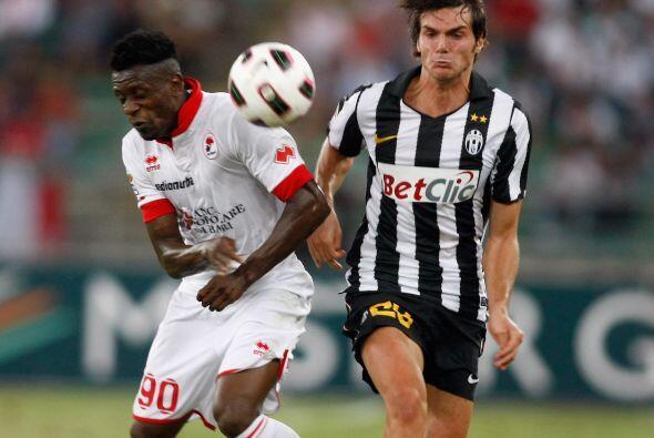 Horas antes, Juventus fue al campo del Bari con la esperanza de sacar lo...