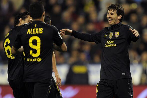 El guarismo resume su determinación. Messi es el alma azulgrana. El que...
