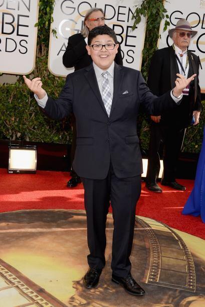 Rico Rodriguez, protagonista de 'Modern Family', también se dio c...