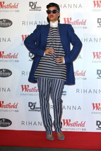 Rihanna también se ha unido a la lista de las famosas que han querido sa...